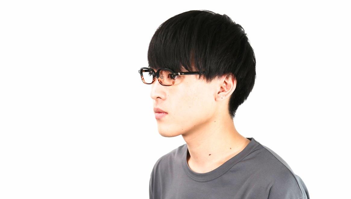 Oh My Glasses TOKYO Harris omg-097-76 [黒縁/鯖江産/スクエア]  6