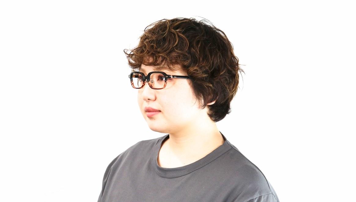 Oh My Glasses TOKYO Harris omg-097-76 [黒縁/鯖江産/スクエア]  8