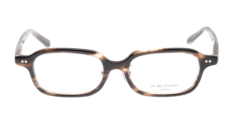 Oh My Glasses TOKYO Harris omg-097-75 [鯖江産/スクエア/茶色]