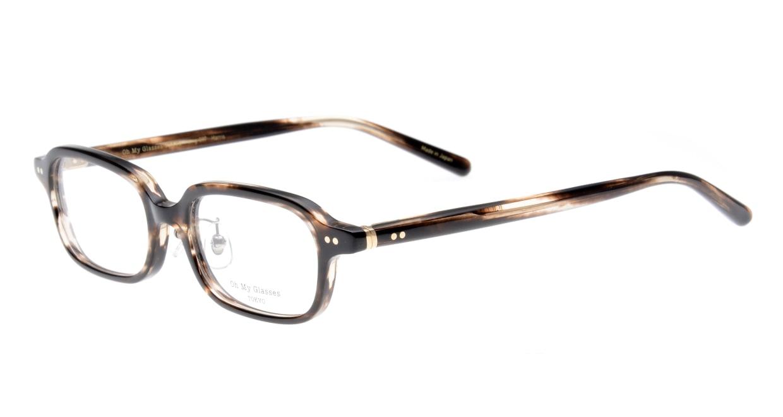 Oh My Glasses TOKYO Harris omg-097-75 [鯖江産/スクエア/茶色]  1