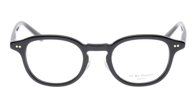 Oh My Glasses TOKYO Alen omg-098-71 [黒縁/鯖江産/丸メガネ]