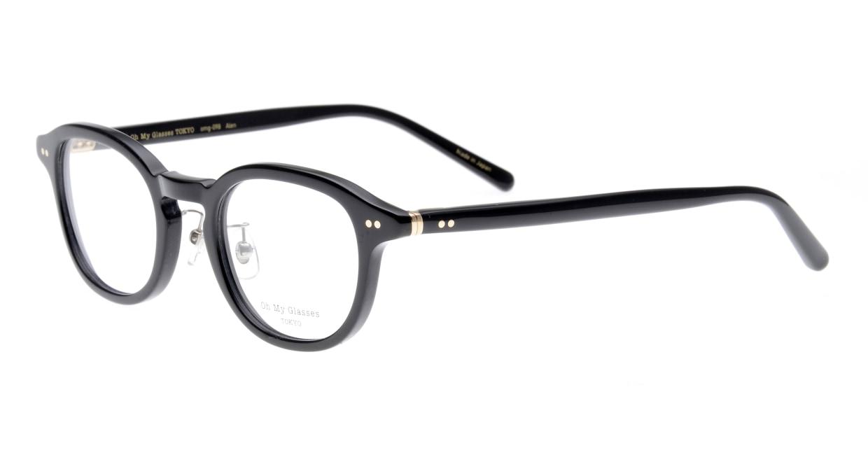Oh My Glasses TOKYO Alen omg-098-71 [黒縁/鯖江産/丸メガネ]  1