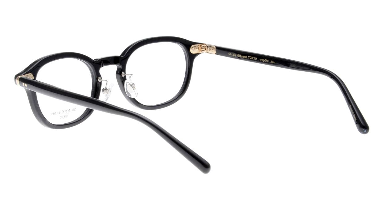 Oh My Glasses TOKYO Alen omg-098-71 [黒縁/鯖江産/丸メガネ]  3
