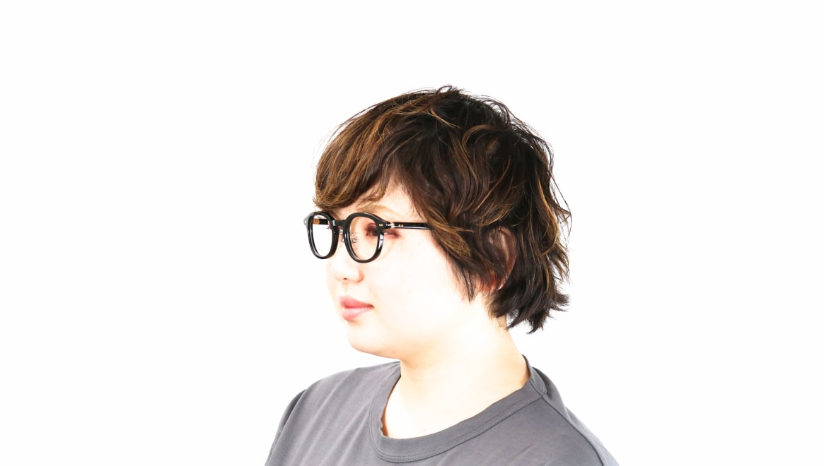Oh My Glasses TOKYO Alen omg-098-71 [黒縁/鯖江産/丸メガネ]  7