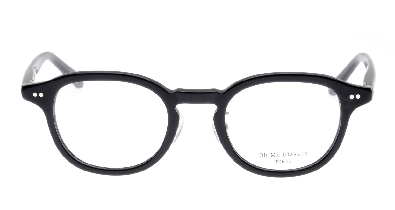 Oh My Glasses TOKYO Alen omg-098-72 [黒縁/鯖江産/丸メガネ]