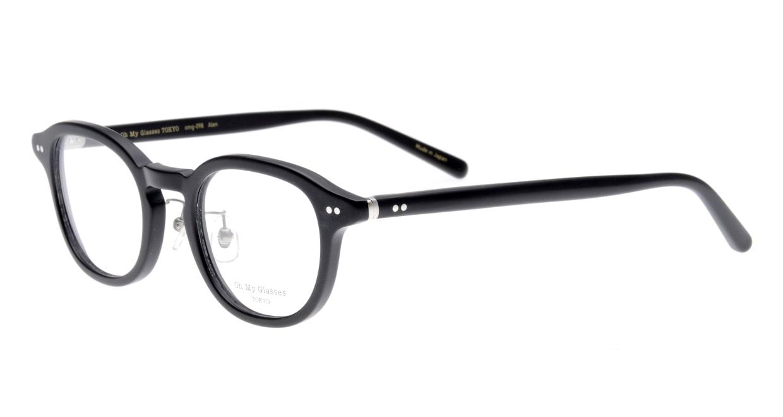 Oh My Glasses TOKYO Alen omg-098-72 [黒縁/鯖江産/丸メガネ]  1