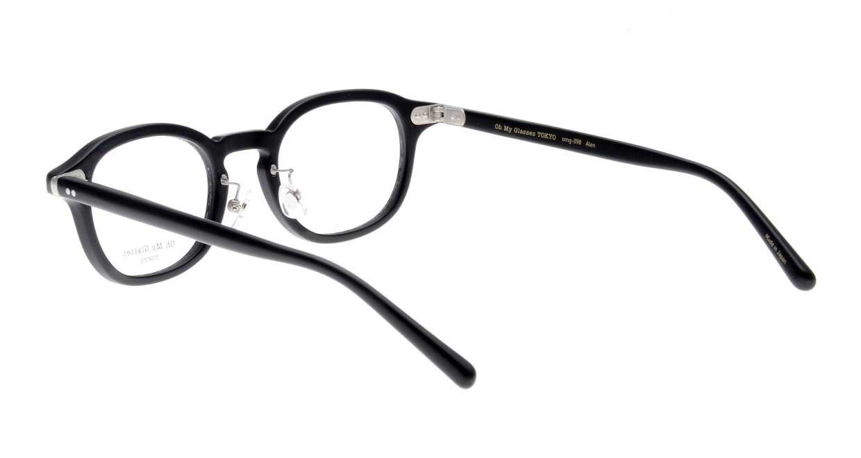 Oh My Glasses TOKYO Alen omg-098-72 [黒縁/鯖江産/丸メガネ]  3