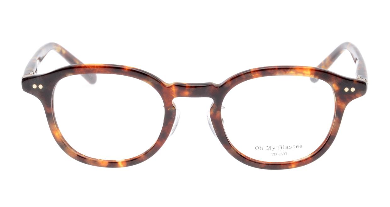 Oh My Glasses TOKYO Alen omg-098-73 [鯖江産/丸メガネ/べっ甲柄]