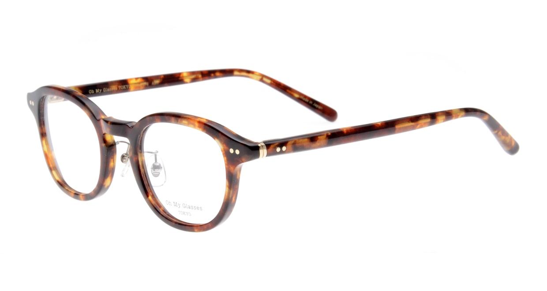 Oh My Glasses TOKYO Alen omg-098-73 [鯖江産/丸メガネ/べっ甲柄]  1