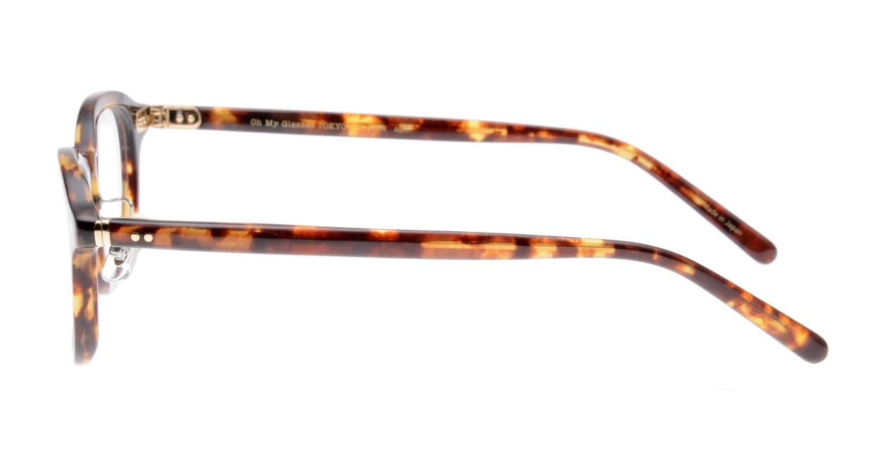 Oh My Glasses TOKYO Alen omg-098-73 [鯖江産/丸メガネ/べっ甲柄]  2
