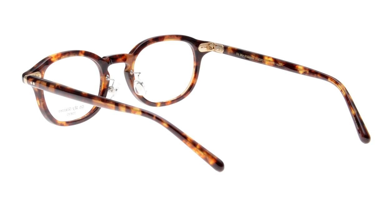 Oh My Glasses TOKYO Alen omg-098-73 [鯖江産/丸メガネ/べっ甲柄]  3