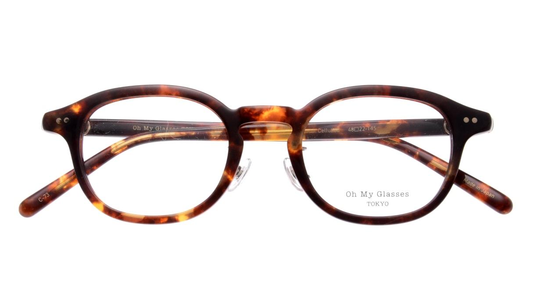 Oh My Glasses TOKYO Alen omg-098-73 [鯖江産/丸メガネ/べっ甲柄]  4