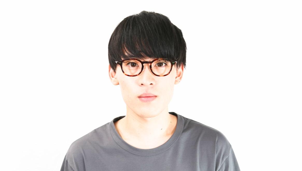 Oh My Glasses TOKYO Alen omg-098-73 [鯖江産/丸メガネ/べっ甲柄]  5