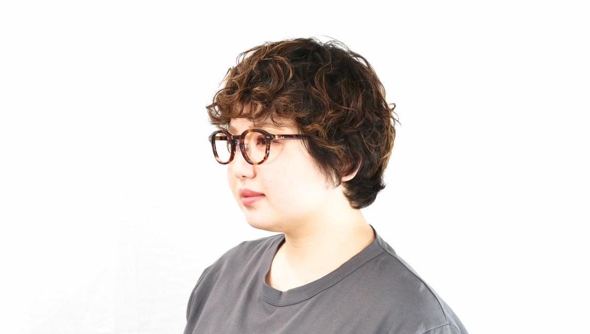 Oh My Glasses TOKYO Alen omg-098-73 [鯖江産/丸メガネ/べっ甲柄]  8