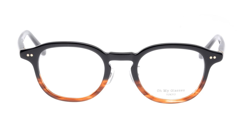 Oh My Glasses TOKYO Alen omg-098-76 [黒縁/鯖江産/丸メガネ]