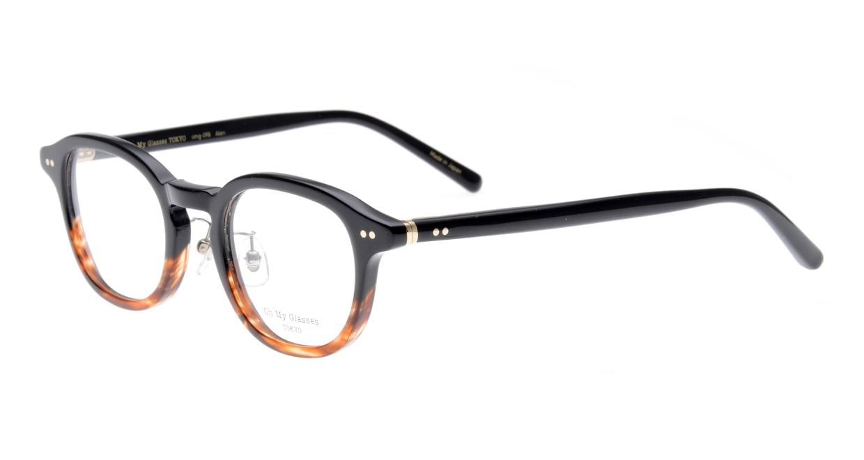 Oh My Glasses TOKYO Alen omg-098-76 [黒縁/鯖江産/丸メガネ]  1