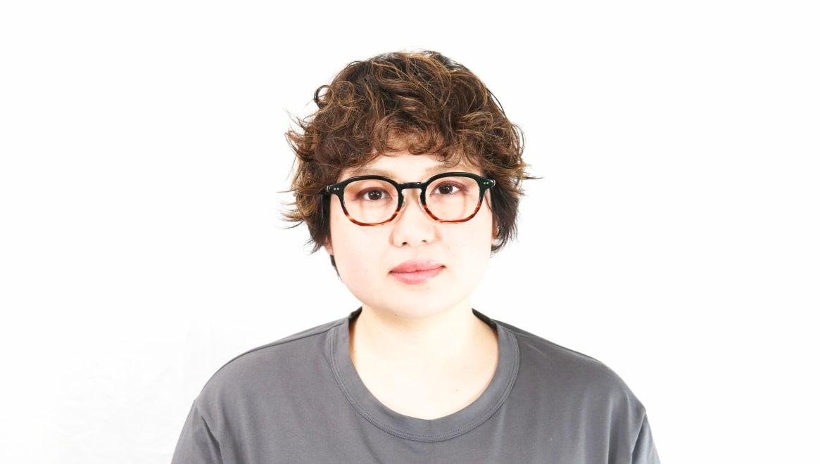 Oh My Glasses TOKYO Alen omg-098-76 [黒縁/鯖江産/丸メガネ]  6