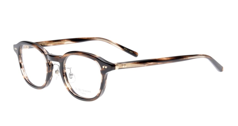 Oh My Glasses TOKYO Alen omg-098-75 [鯖江産/丸メガネ/茶色]  1