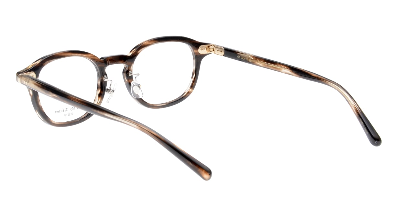 Oh My Glasses TOKYO Alen omg-098-75 [鯖江産/丸メガネ/茶色]  3