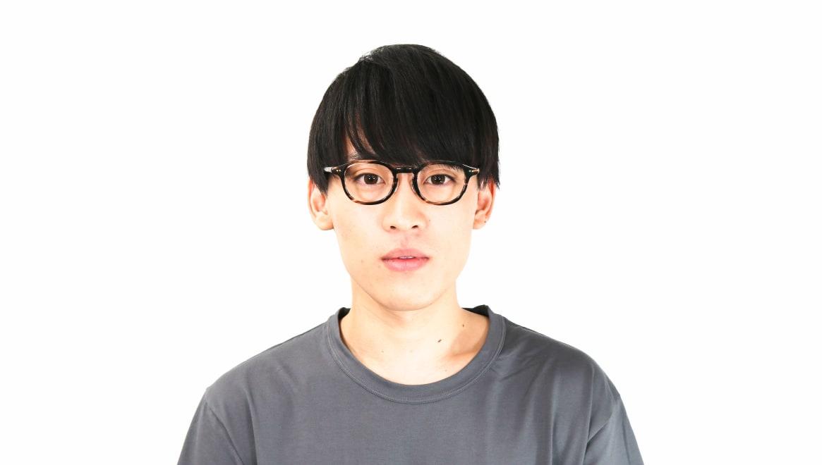 Oh My Glasses TOKYO Alen omg-098-75 [鯖江産/丸メガネ/茶色]  4