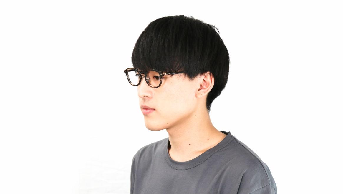 Oh My Glasses TOKYO Alen omg-098-75 [鯖江産/丸メガネ/茶色]  5