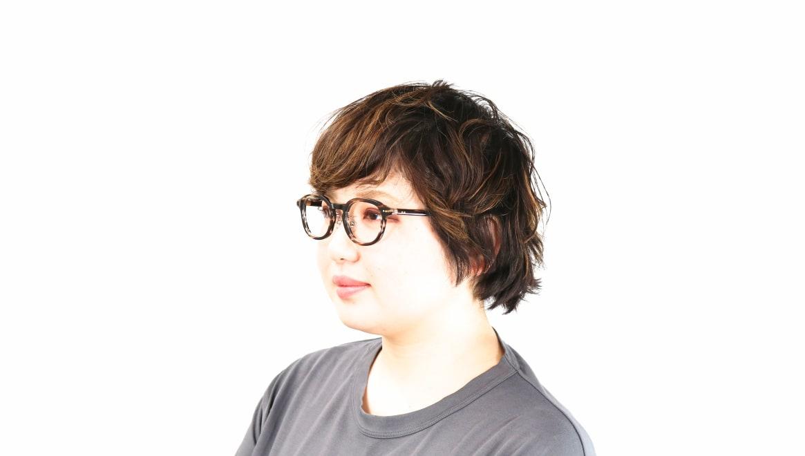 Oh My Glasses TOKYO Alen omg-098-75 [鯖江産/丸メガネ/茶色]  7