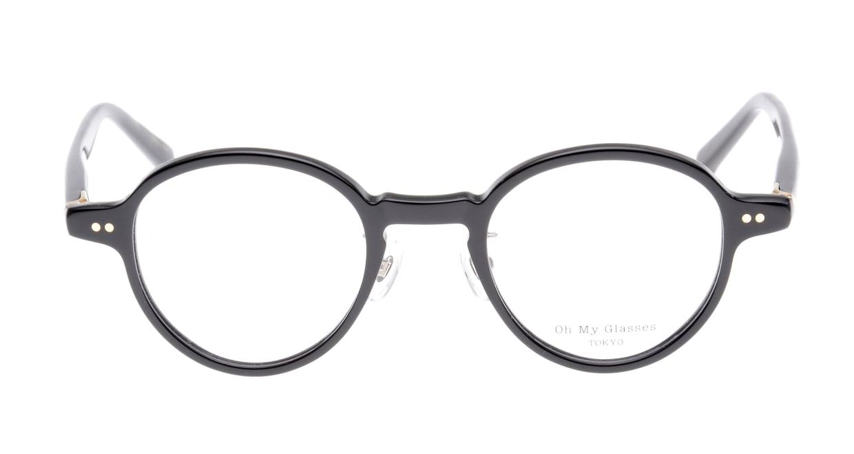 Oh My Glasses TOKYO Ben omg-099-71 [黒縁/鯖江産/丸メガネ]