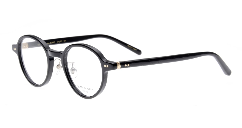 Oh My Glasses TOKYO Ben omg-099-71 [黒縁/鯖江産/丸メガネ]  1