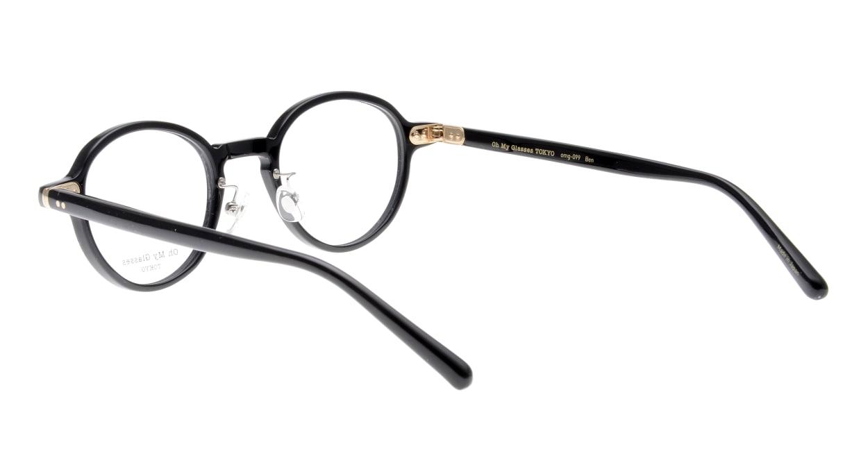 Oh My Glasses TOKYO Ben omg-099-71 [黒縁/鯖江産/丸メガネ]  3