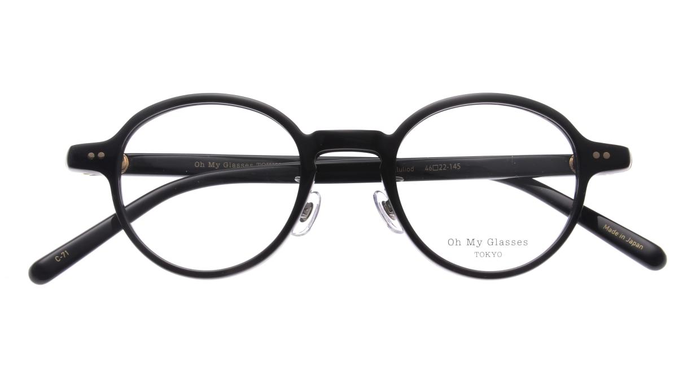 Oh My Glasses TOKYO Ben omg-099-71 [黒縁/鯖江産/丸メガネ]  4