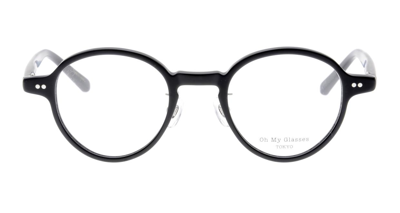 Oh My Glasses TOKYO Ben omg-099-72 [黒縁/鯖江産/丸メガネ]