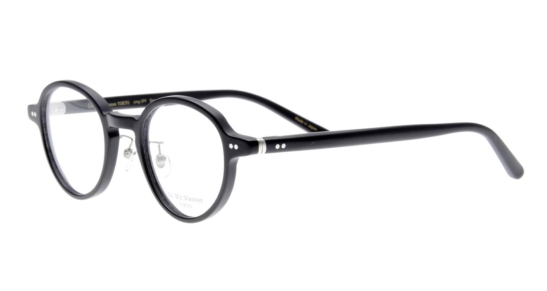 Oh My Glasses TOKYO Ben omg-099-72 [黒縁/鯖江産/丸メガネ]  1