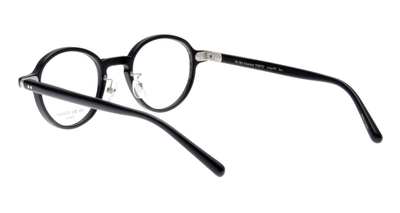 Oh My Glasses TOKYO Ben omg-099-72 [黒縁/鯖江産/丸メガネ]  3