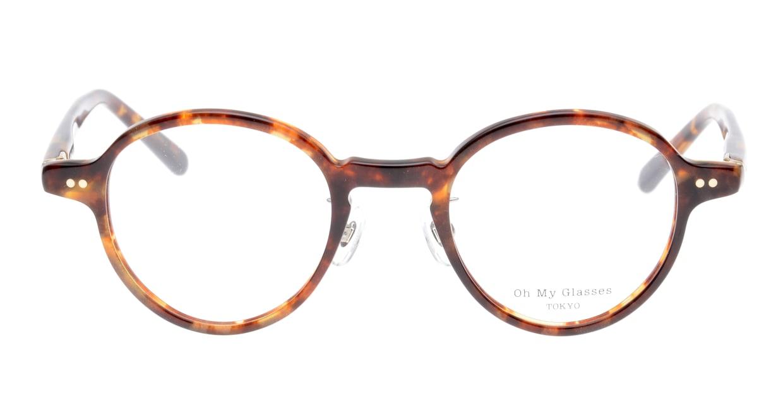 Oh My Glasses TOKYO Ben omg-099-73 [鯖江産/丸メガネ/べっ甲柄]