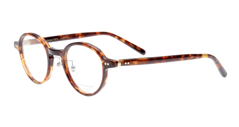 Oh My Glasses TOKYO Ben omg-099-73 [鯖江産/丸メガネ/べっ甲柄]  1