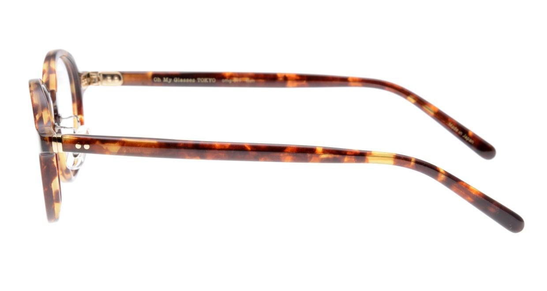 Oh My Glasses TOKYO Ben omg-099-73 [鯖江産/丸メガネ/べっ甲柄]  2