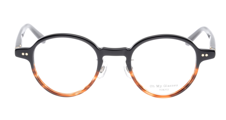 Oh My Glasses TOKYO Ben omg-099-76 [黒縁/鯖江産/丸メガネ]