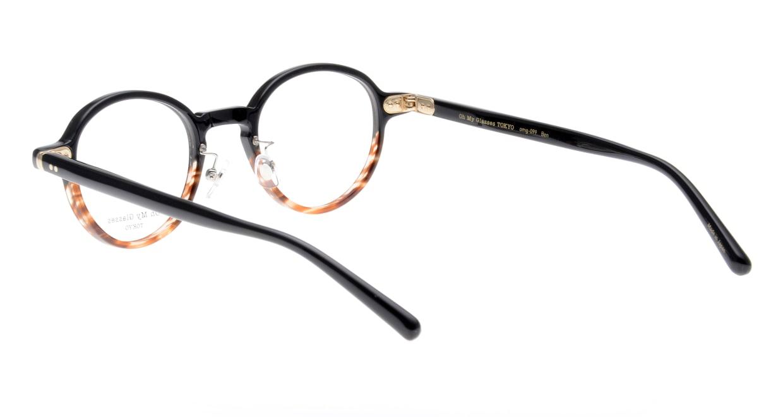 Oh My Glasses TOKYO Ben omg-099-76 [黒縁/鯖江産/丸メガネ]  3