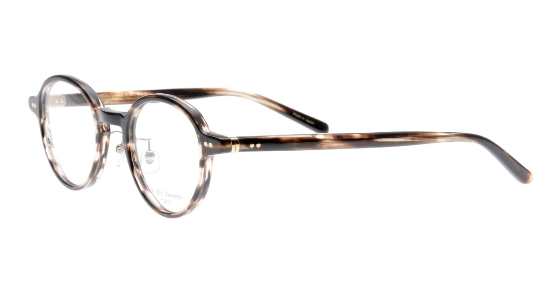 Oh My Glasses TOKYO Ben omg-099-75 [鯖江産/丸メガネ/茶色]  1