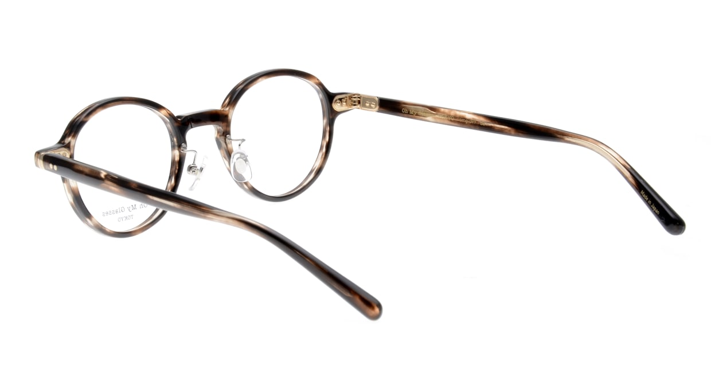 Oh My Glasses TOKYO Ben omg-099-75 [鯖江産/丸メガネ/茶色]  3