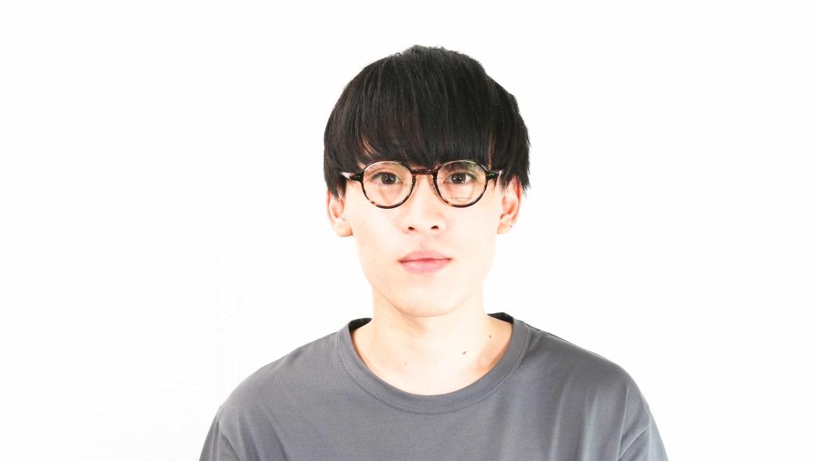 Oh My Glasses TOKYO Ben omg-099-75 [鯖江産/丸メガネ/茶色]  4