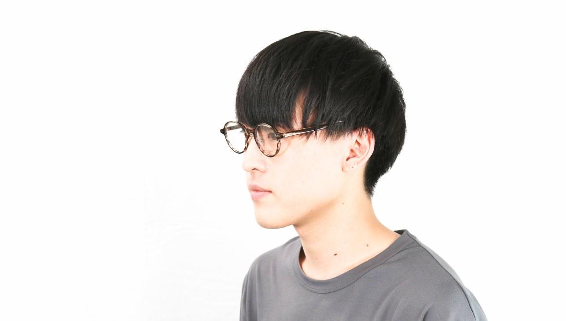 Oh My Glasses TOKYO Ben omg-099-75 [鯖江産/丸メガネ/茶色]  5