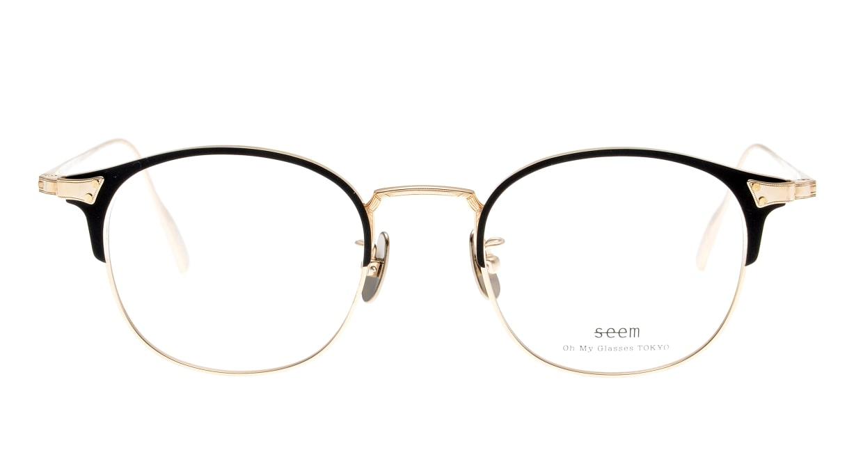 seem Oh My Glasses TOKYO Elena omg-100-1-14 [メタル/鯖江産/ウェリントン]