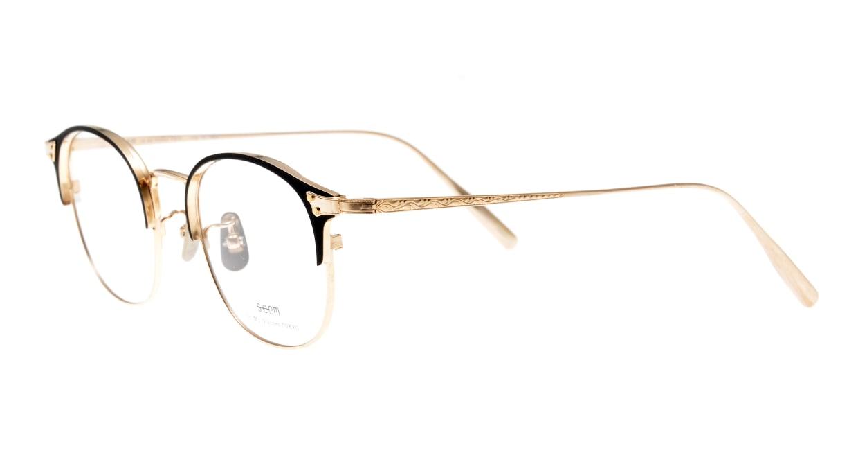 seem Oh My Glasses TOKYO Elena omg-100-1-14 [メタル/鯖江産/ウェリントン]  1
