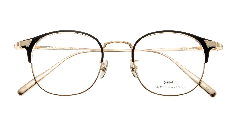 seem Oh My Glasses TOKYO Elena omg-100-1-14 [メタル/鯖江産/ウェリントン]  4