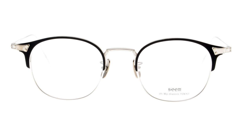 seem Oh My Glasses TOKYO Elena omg-100-1-20 [メタル/鯖江産/ウェリントン]