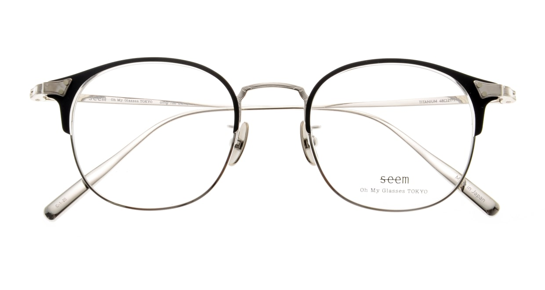 seem Oh My Glasses TOKYO Elena omg-100-1-20 [メタル/鯖江産/ウェリントン]  4