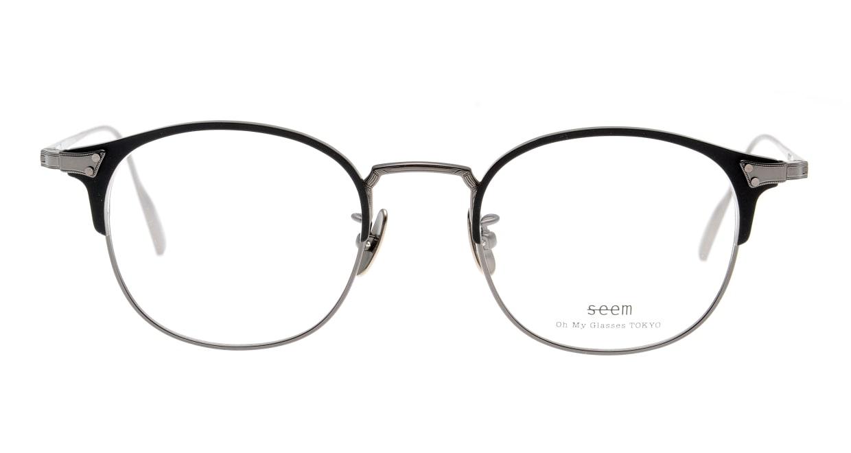 seem Oh My Glasses TOKYO Elena omg-100-2-43 [メタル/鯖江産/ウェリントン]