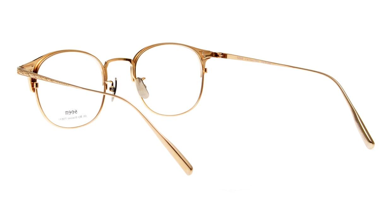 seem Oh My Glasses TOKYO Elena omg-100-30-10 [メタル/鯖江産/ウェリントン/茶色]  3