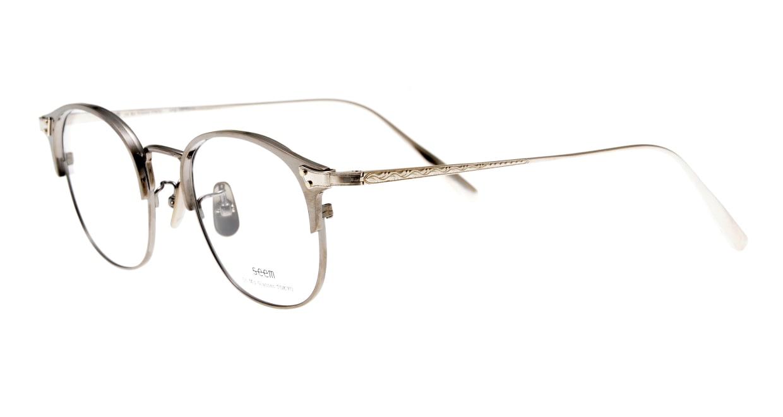 seem Oh My Glasses TOKYO Elena omg-100-21-20 [メタル/鯖江産/ウェリントン/シルバー]  1